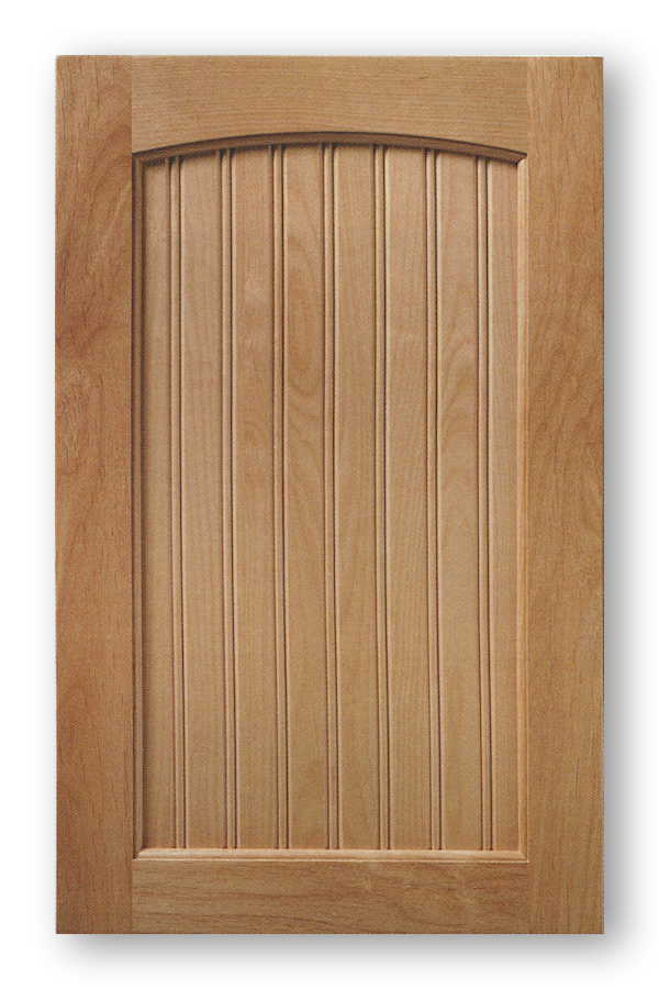 Arch Top Bead Board Cabinet Door Indiana