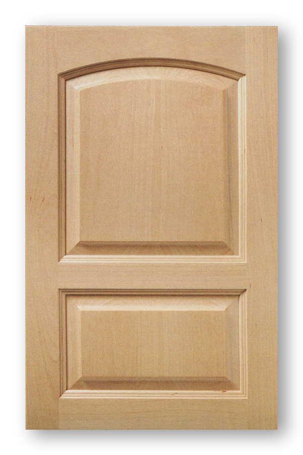 Multi Panel Roman Arch Raised Panel Cabinet Door Phoenix