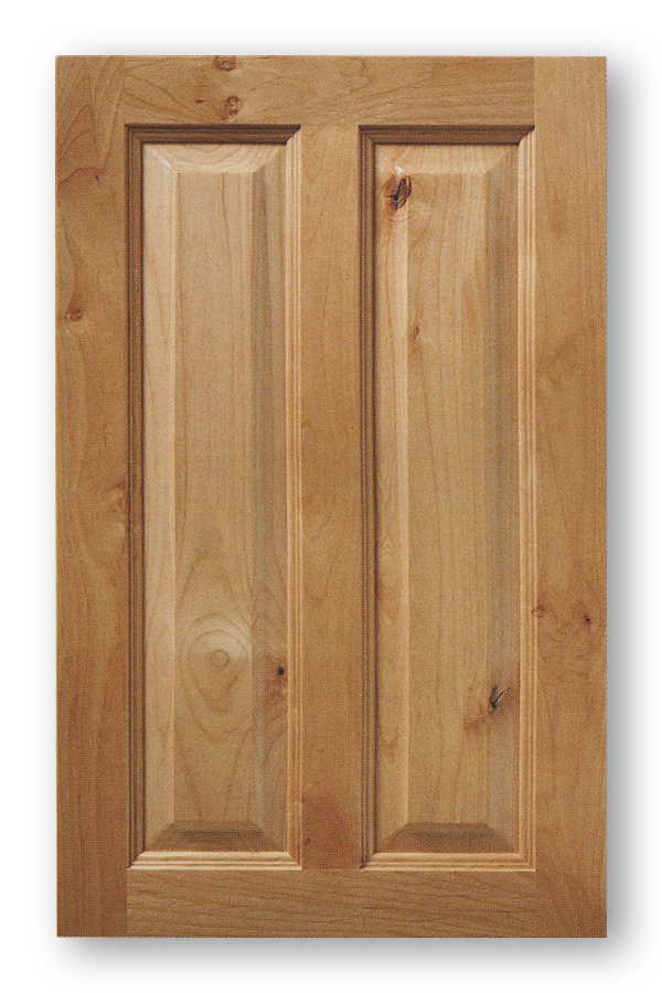 Vertical Split Raised Panel Cabinet Door Idaho
