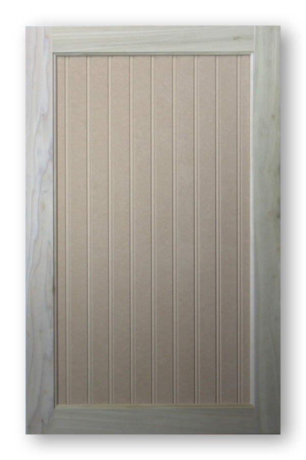Beadboard Cabinet Door Georgia Poplar Frame Mdf Panel