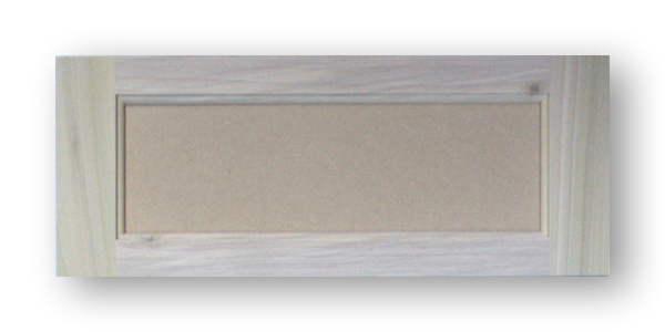 Roman Arch Raised Panel Cabinet Door Utah Poplar Frame Mdf Panel