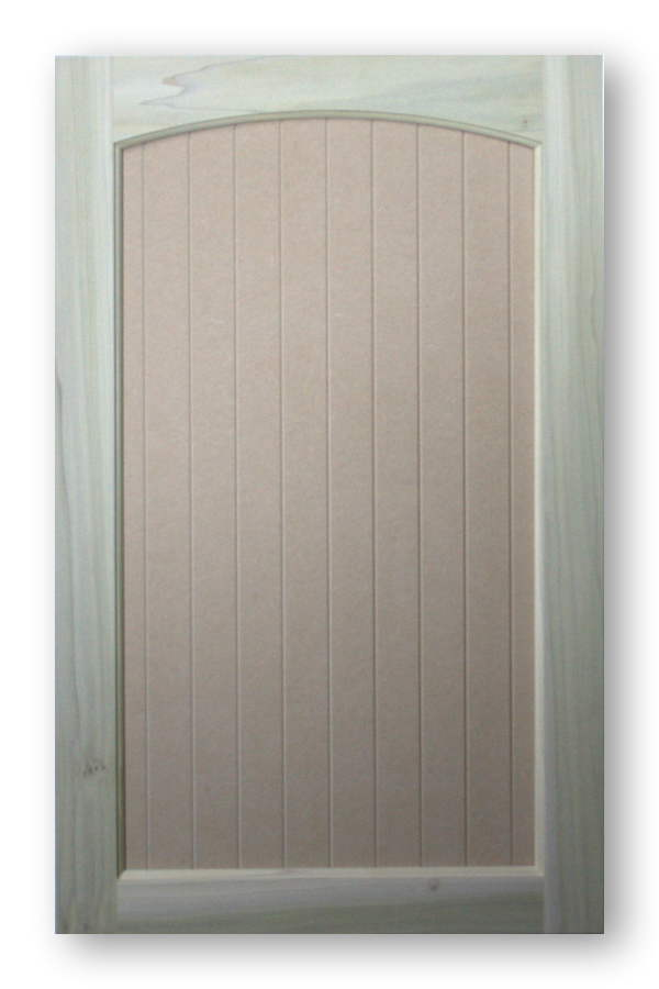 Paint Stain Grade Roman Arch Top Cabinet Doors