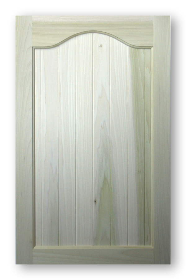 Paint Grade Cathedral Arch Top Cabinet Doors