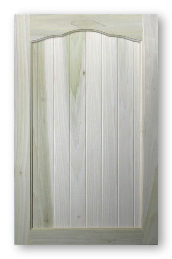 Paint Grade Sunset Arch Top Cabinet Doors