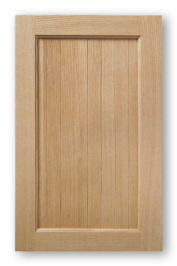 Solid Wood Vee Groove Panel Cabinet Door Madison