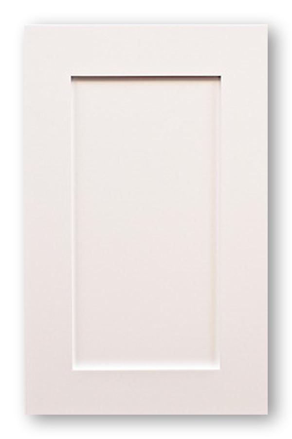 Shaker White Kitchen Doors