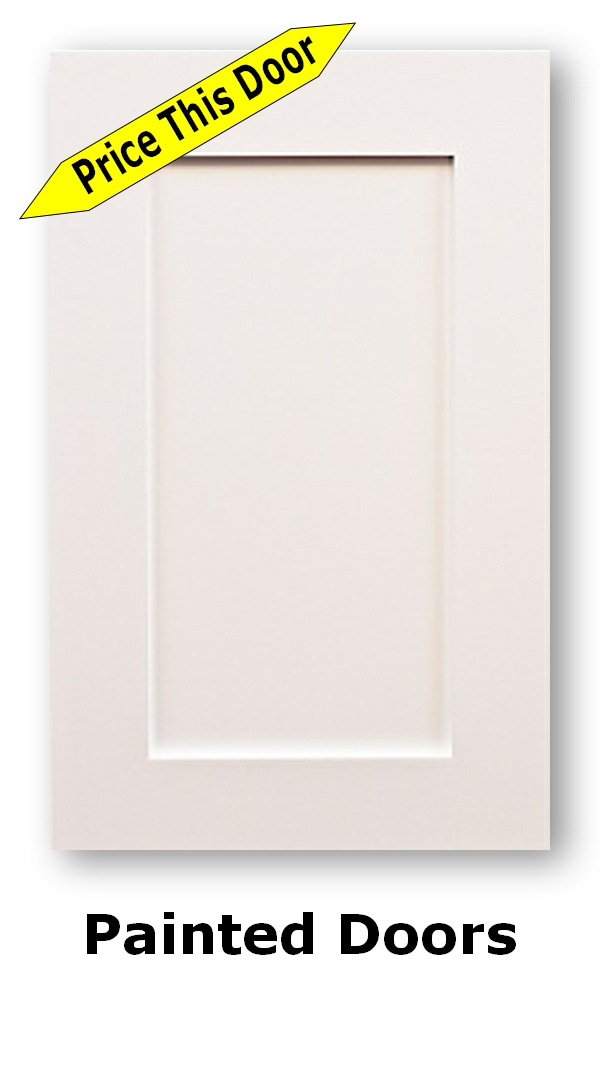 Painted Cathedral Kitchen Cabinet Doors